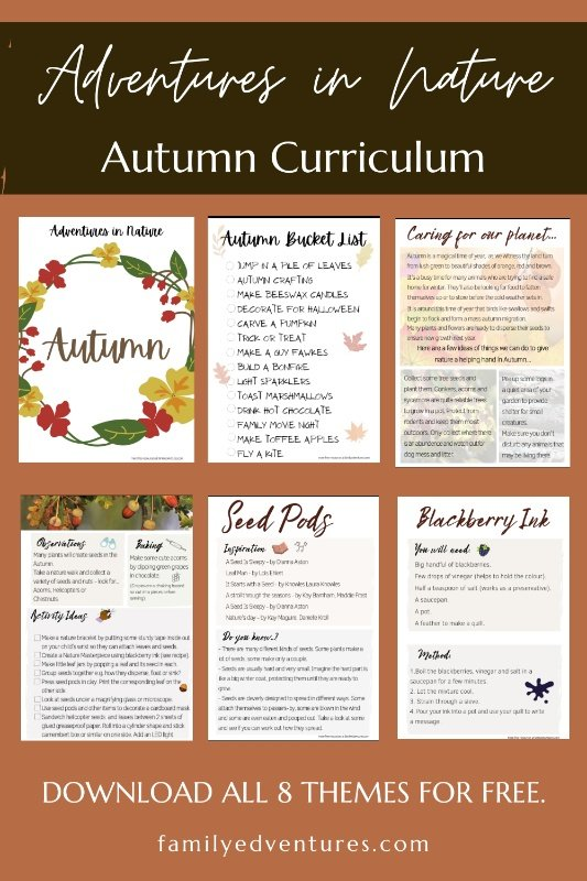 Autumn Nature Activities
