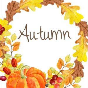 Autumn activites kids