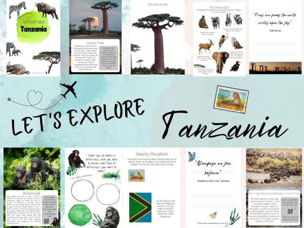 Tanzania unit study kids